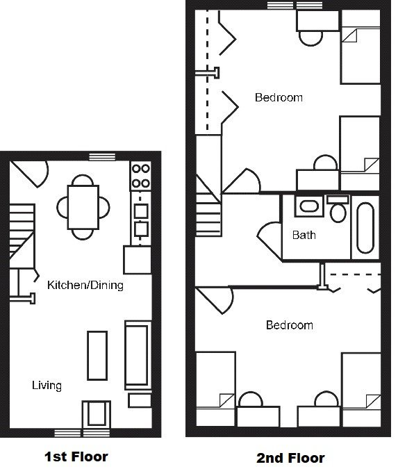 Campus Meadows Floorplan Town House