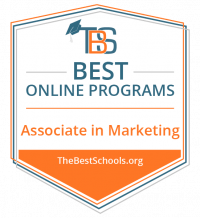 best online associate in marketing logo