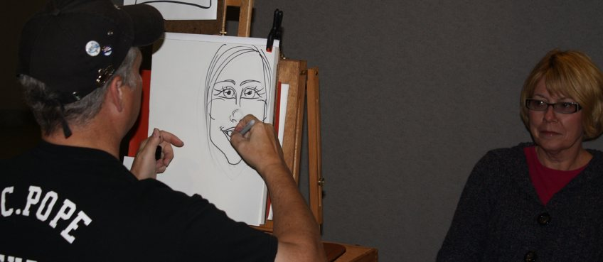 Caricatures by WC Pope