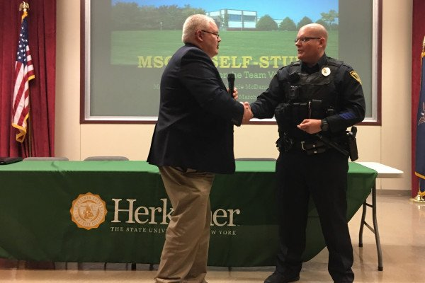 Officer Shea Manley Lifesaver Award March 2020